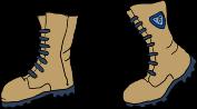 Betan Survey combat boots